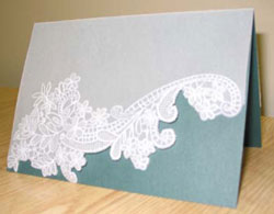 Trapunto Paper Crafting